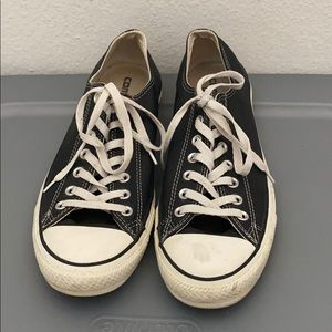 Converse all stars black sneakers